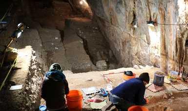 INAH exhorta a la sociedad a conservar el contexto arqueológico de la cueva del Chiquihuite, de invaluable valor para la ciencia mundial