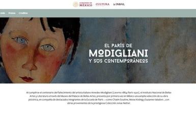El París de Modigliani y sus contemporáneos se abre virtualmente, a través de un micrositio
