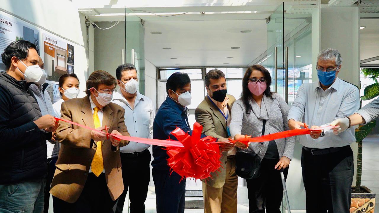 Entrega de la 1a etapa de mejoramiento y rehabilitación del Centro de Desarrollo de la Micro y Pequeña Empresa en Gustavo A. Madero