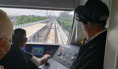 Supervisa titular de la SCT línea 3 del tren ligero de Guadalajara, la obra de infraestructura más importante de los últimos años en Jalisco