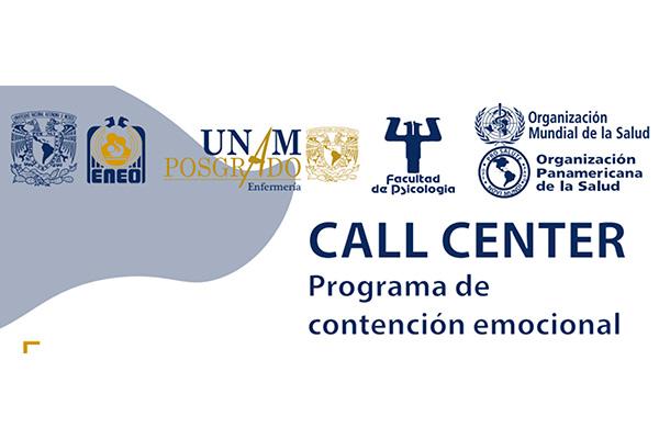 Disponible, call center para atención emocional de la comunidad ENEO