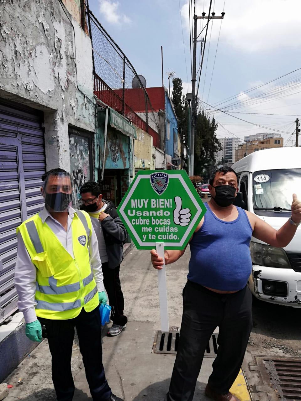 Cuajimalpa hace un llamado a la población a superar juntos la crisis por COVID-19