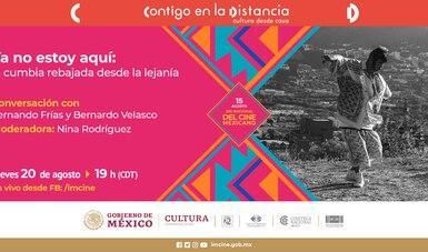 El cine también se platica: Imcine realiza charlas virtuales como parte de la celebración por el Día Nacional del Cine Mexicano