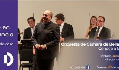 Internautas podrán conocer aficiones y trayectoria de Jesús Medina, director de la Orquesta Filarmónica de Jalisco