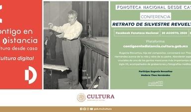 """Recordarán la figura de Silvestre Revueltas en conferencia del ciclo virtual """"Fonoteca Nacional desde casa"""""""