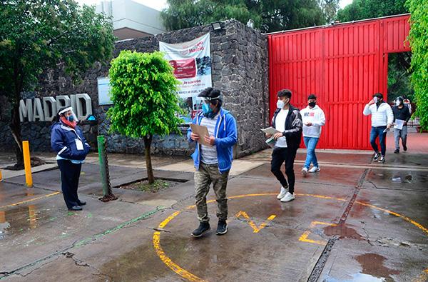 UNAM reporta cero casos sospechosos de COVID 19 en sedes de aplicación de examen para licenciatura