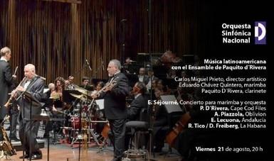 Se transmitirá el concierto que Paquito D'Rivera ofreció junto a la Orquesta Sinfónica Nacional en el Palacio de Bellas Artes