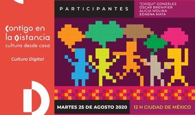Ofrece Cultura Comunitaria charla web sobre metodologías para fomentar la participación de infancias en actividades culturales