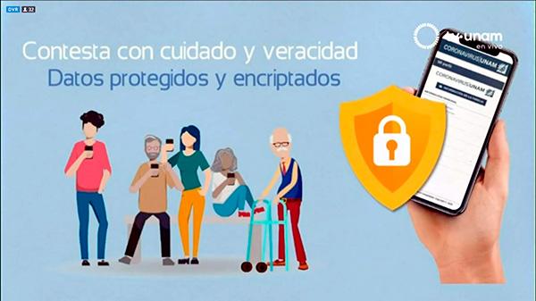 En activo, la app Coronavirus/UNAM v2.0