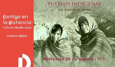 El investigador Enrique Semo disertará sobre la división de los pueblos indígenas en el proceso de conquista de México