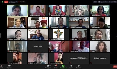 Se realizó el primer encuentro virtual de educadoras y educadores ambientales en Morelos