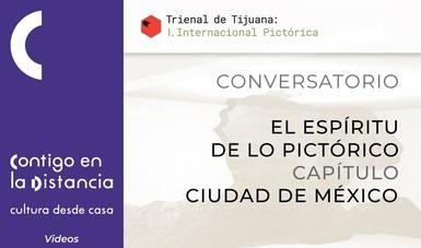Participará el pintor Eloy Tarcisio en cibercharla sobre la Trienal Tijuana I: Internacional Pictórica