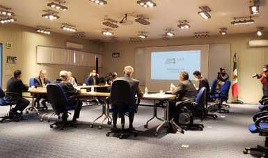 El Secretario de Comunicaciones y Transportes, Ing. Civil Jorge Arganis Díaz Leal, sostiene reuniones de trabajo con ASA, SENEAM y AICM