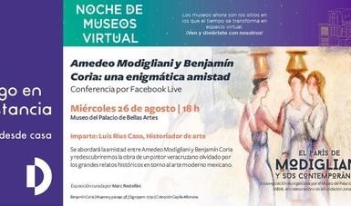 La Red de Museos del INBAL presenta la quinta edición virtual de Noche de museos en agosto