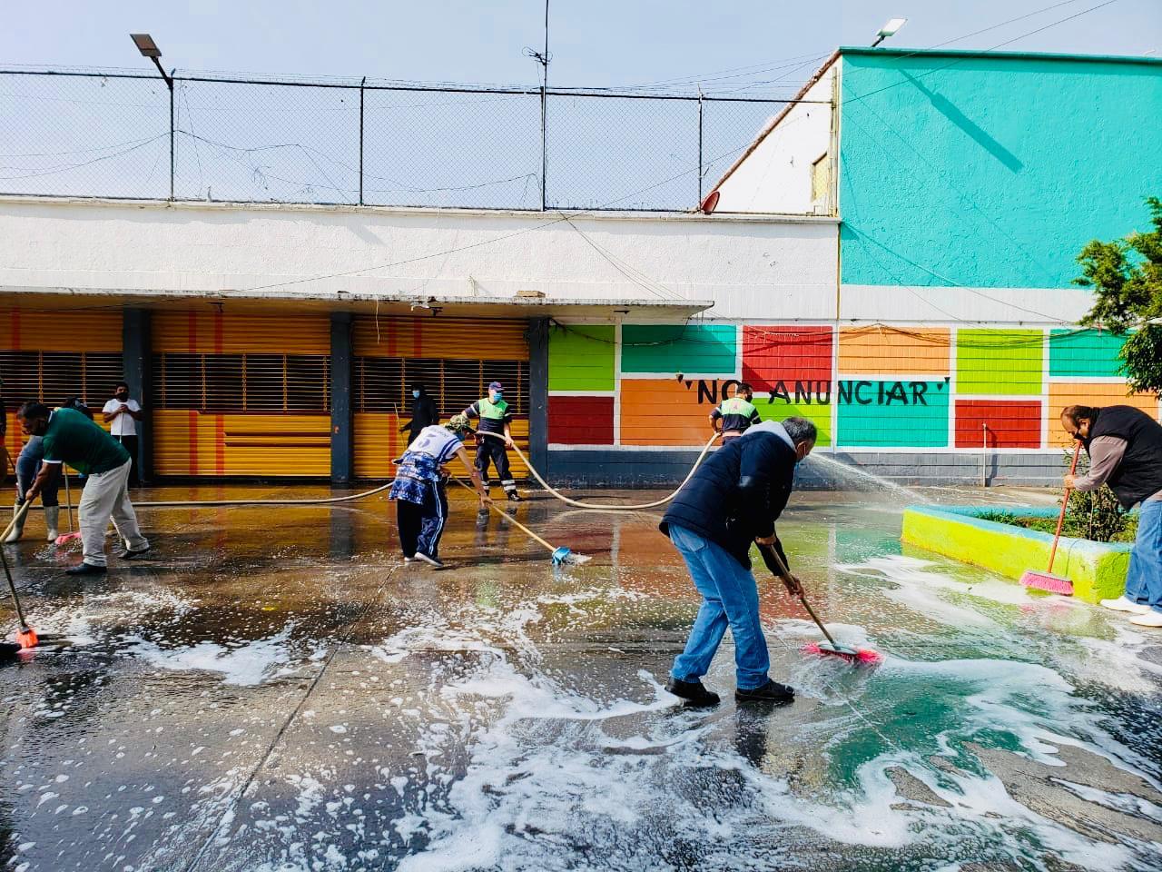Gustavo A. Madero ejecuta acciones de saneamiento