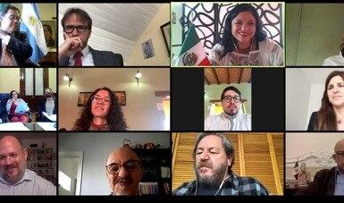 La Secretaría de Cultura y el Ministerio de Cultura de Argentina unen lazos y establecen acciones culturales