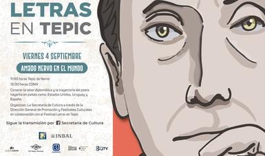 La Secretaría de Cultura del Gobierno de México se une al homenaje internacional a Amado Nervo