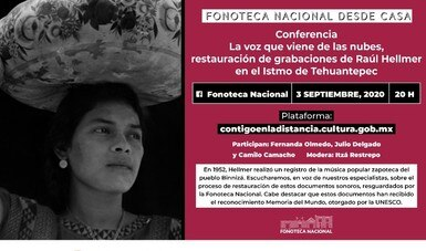 Fonoteca Nacional mostrará proceso de restauración digital de audios históricos del Istmo de Tehuantepec