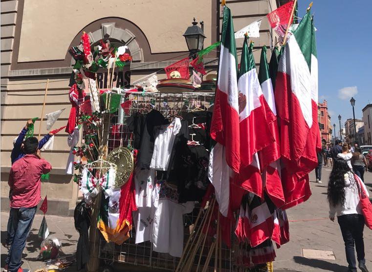Secretaría de Gobierno de la Ciudad de México, autorizará del 2 al 17 de septiembre la venta de banderas