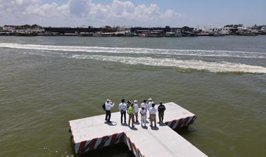 El Secretario Jorge Arganis Díaz Leal, afirmó que los cambios en materia portuaria y aduanera permitirán elevar la calidad de vida