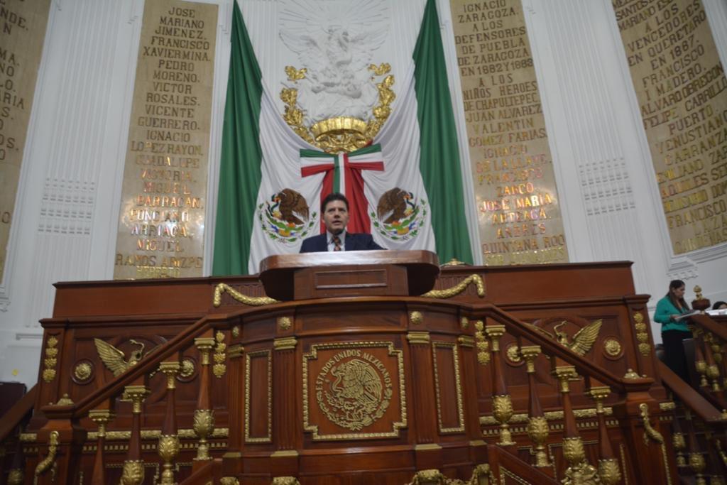 Fortalecer consensos para consolidar al 1er Congreso de la Ciudad, como el más eficaz y de avanzada del país: Lobo Román