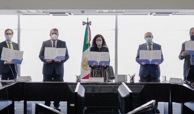 STPS firma Memorándum de Entendimiento para que el notariado de México coadyuve en la implementación de la Reforma Laboral