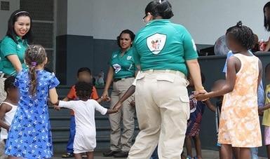 Firman INM y SNDIF convenio de colaboración a favor de niñas, niños y adolescentes migrantes