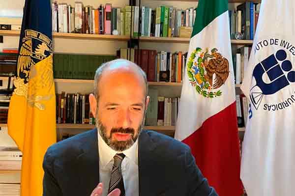 Dedicación y entrega, características sustanciales del Instituto de Investigaciones Jurídicas de la UNAM: Salazar Ugarte