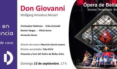 Espectacular elenco protagoniza Don Giovanni, de Mozart, en la temporada de Ópera de Bellas Artes