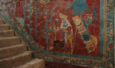 Se cumplen 45 años del descubrimiento de las pinturas murales de Cacaxtla, en Tlaxcala