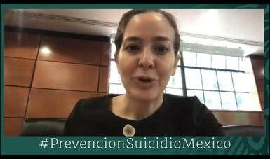 En México se promueve sin descanso la prevención y atención temprana para evitar suicidios