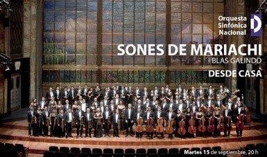 La Orquesta Sinfónica Nacional celebra el 15 de septiembre con el estreno de Sones de mariachi, de Blas Galindo