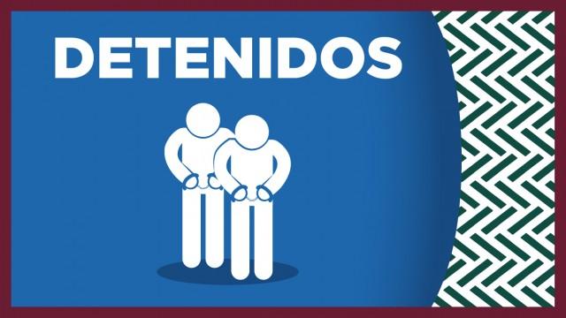 Dos posibles involucrados en el robo de armas de cargo a oficiales, fueron detenidos por personal de la SSC, en la alcaldía Gustavo A. Madero