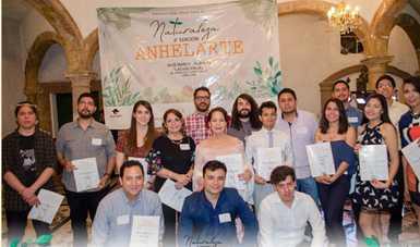 El colectivo Anhelarte impulsa el desarrollo de las bellas artes