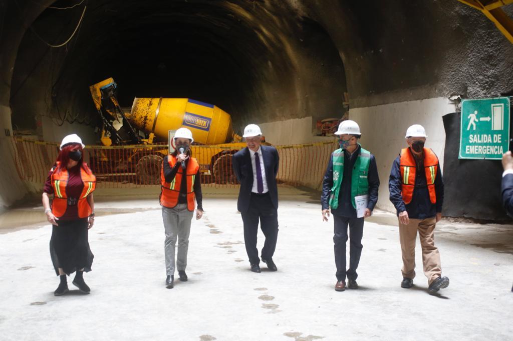 Supervisan Presidente de México y Jefa de Gobierno ampliación de Línea 12 del Metro