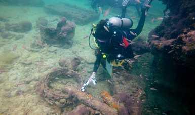 Identifica INAH al primer naufragio esclavista de mayas en México