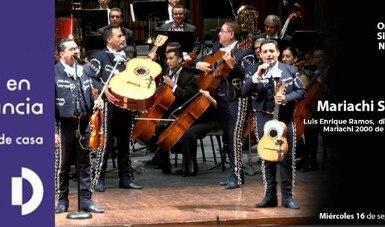 La Orquesta Sinfónica Nacional y el Mariachi 2000 en las Fiestas patrias