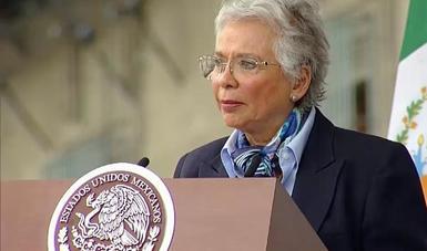 Palabras secretaria Olga Sánchez Cordero, presidenta del Consejo de Premiación de la Condecoración Miguel Hidalgo, en la entrega de preseas