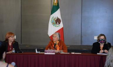 Rechazo a cualquier abuso de poder y acto de violencia contra las mujeres: secretaria de Gobernación, Olga Sánchez Cordero