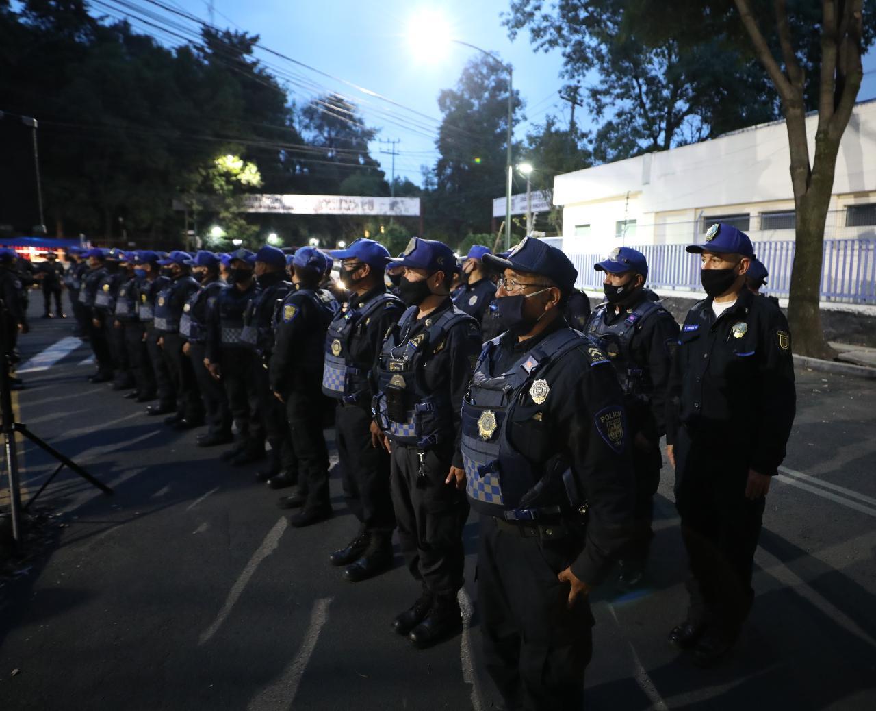 Refuerzan seguridad en Tacuba