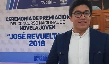 Nestor Isay Pinacho Espinosa gana el Premio Bellas Artes de Cuento San Luis Potosí Amparo Dávila 2020