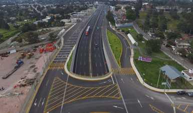 Inaugura el Presidente López Obrador el paso inferior vehicular Ocotoxco, en Tlaxcala