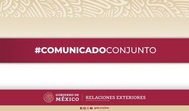 México refrenda su compromiso de trabajar estrecha y coordinadamente con EE.UU. en beneficio de la seguridad y salud de sus ciudadanos