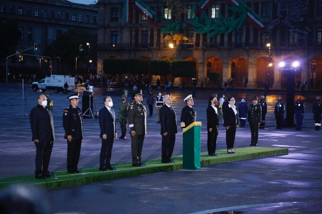 Asiste Jefa de Gobierno a ceremonia conmemorativa por sismos de 1985 y 2017 en la Ciudad de México