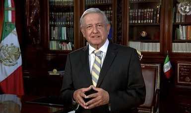 La creación de la ONU es fundamental en la defensa de las libertades, afirma presidente López Obrador