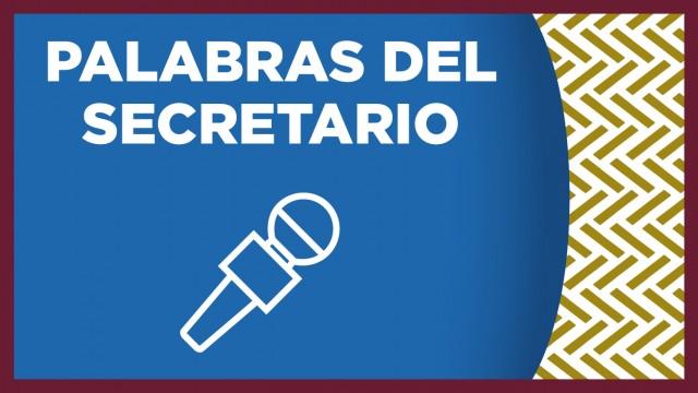 Primera intervención del Secretario de Seguridad Ciudadana, Licenciado Omar García Harfuch, con motivo de la comparecencia del Segundo Informe de Labores, ante el Congreso de la Ciudad de México
