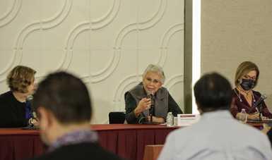 Palabras secretaria Olga Sánchez Cordero, en el 7 informe mensual del Grupo Interinstitucional de Estrategias contra las Violencias