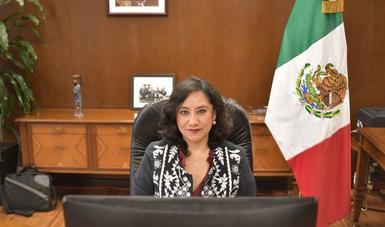 Defendemos el derecho a la verdad, para combatir las noticias falsas y la manipulación: secretaria Sandoval Ballesteros