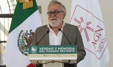 Palabras subsecretario Alejandro Encinas Rodríguez, en la presentación de la Política de Verdad y Memoria del Pasado Reciente