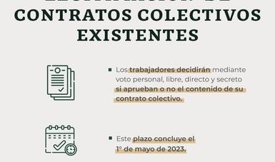 Reactiva Reforma Laboral procesos de legitimación de contratos colectivos con 58 consultas